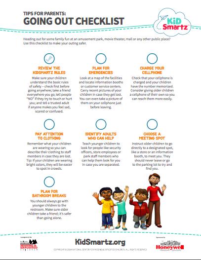 KidSmartz Checklist