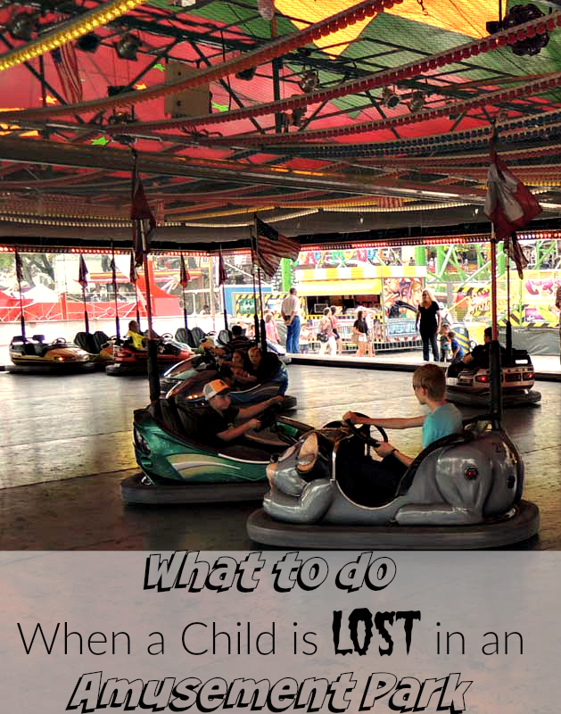 Lost in an Amusement Park