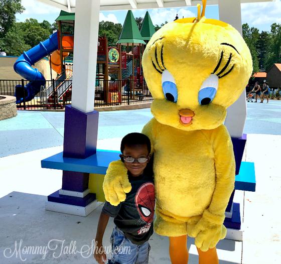 Six Flags Tweetie Bird
