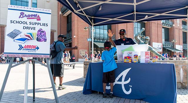 Atlanta Braves Back to School Bash