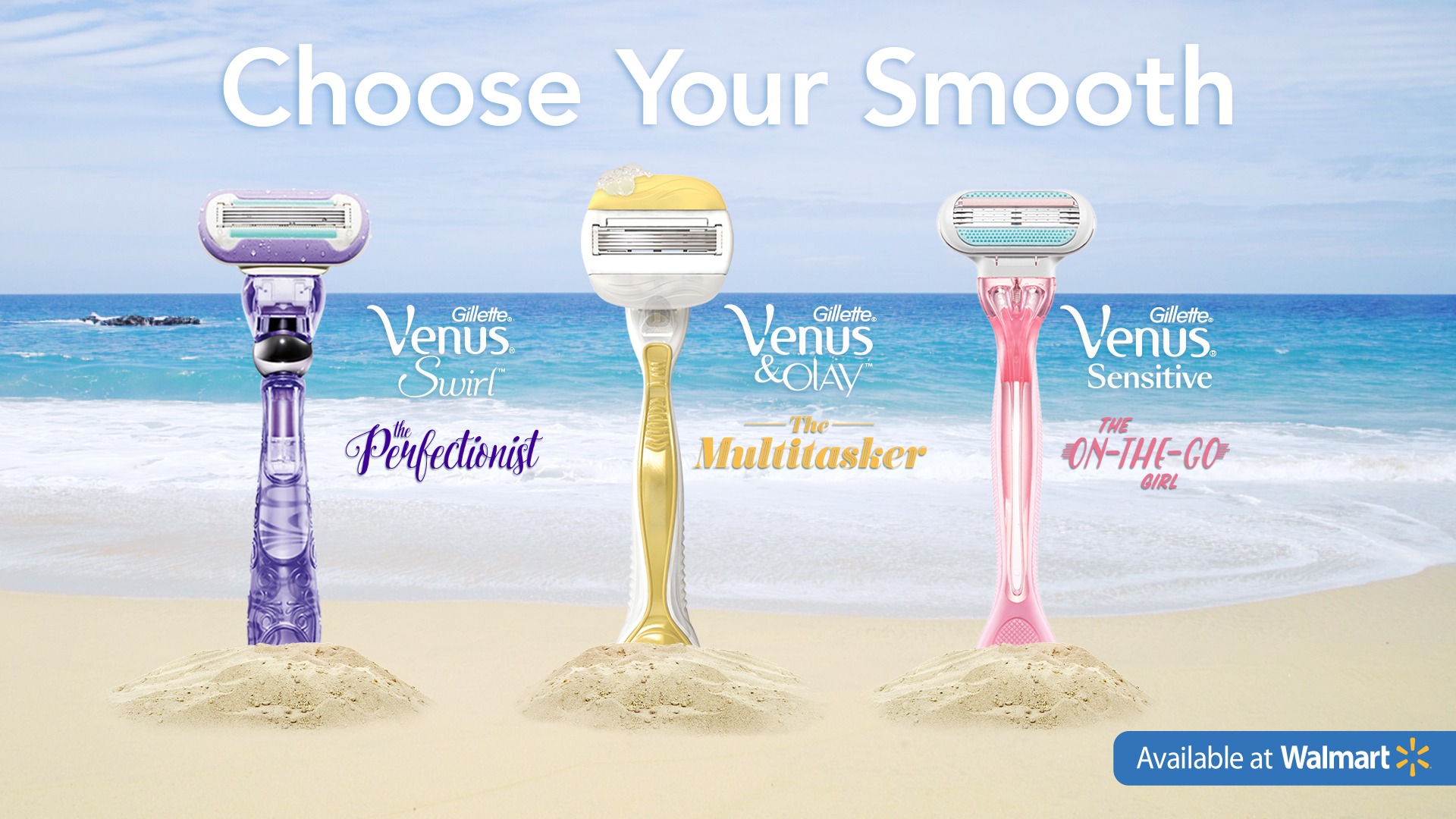 Choose Your Smooth