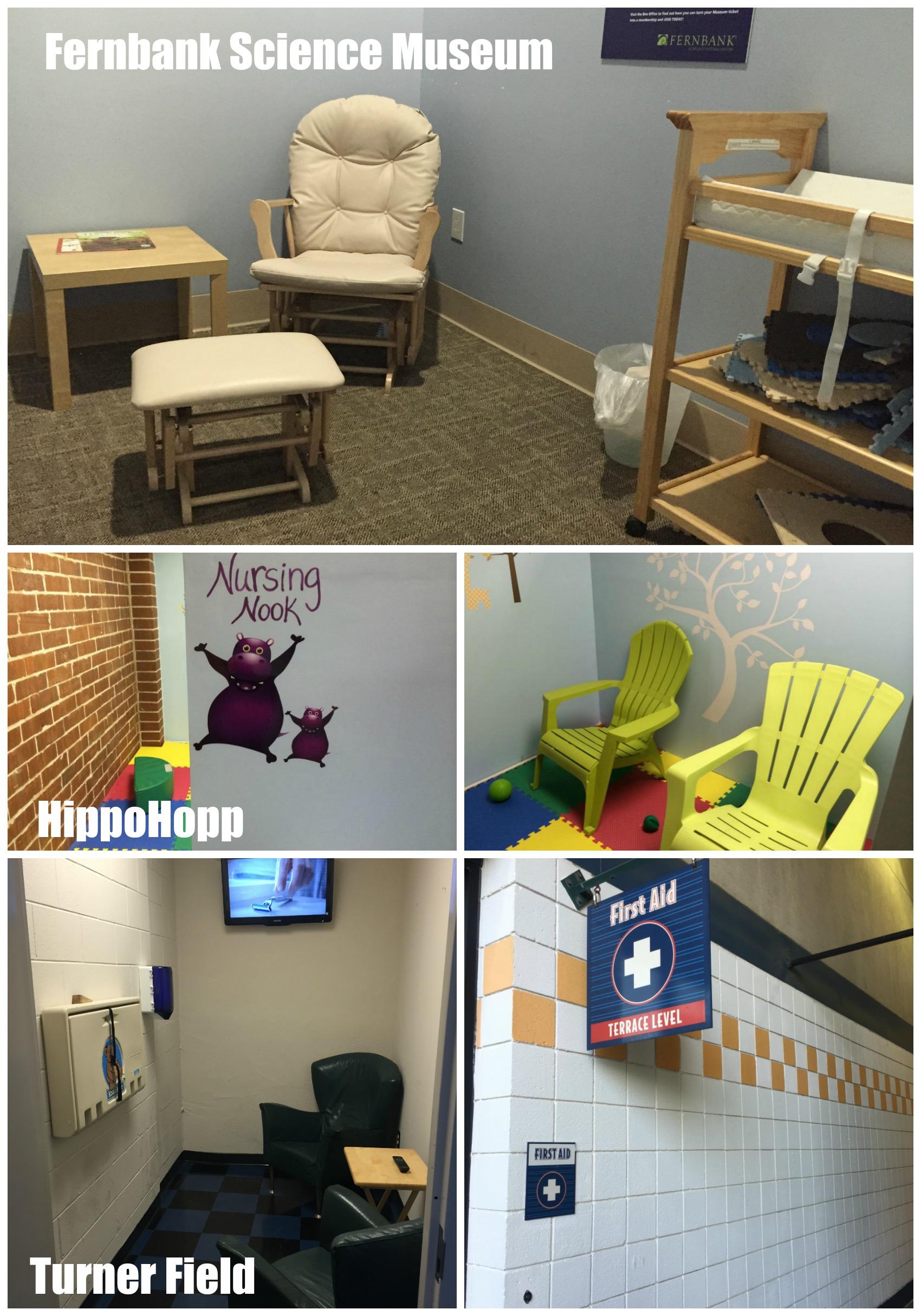 Altanta Breastfeeding Rooms