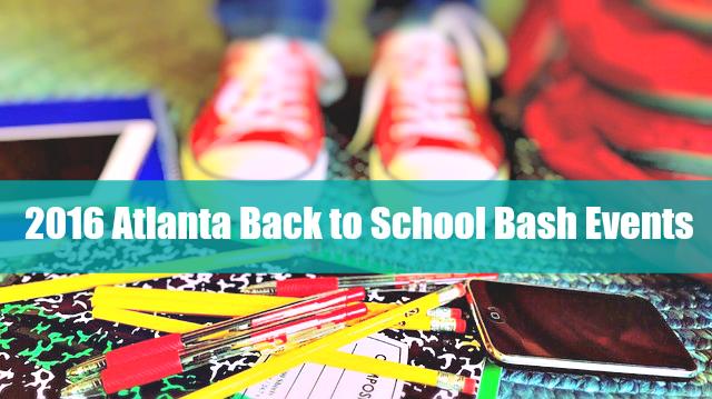 Atlanta Back to School Bash