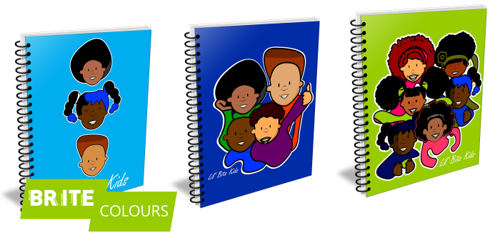 Brite Colours Notebooks