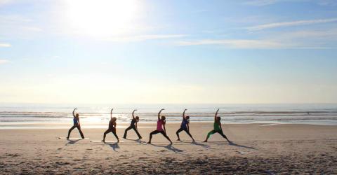 Featured Jekyll Island Beach Yoga