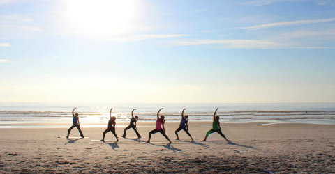 Featured Jekyll Island Beach Yoga