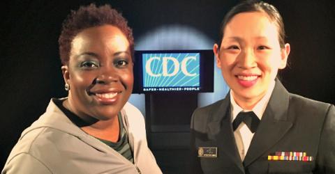 Joyce and Dr. Joy Hsu