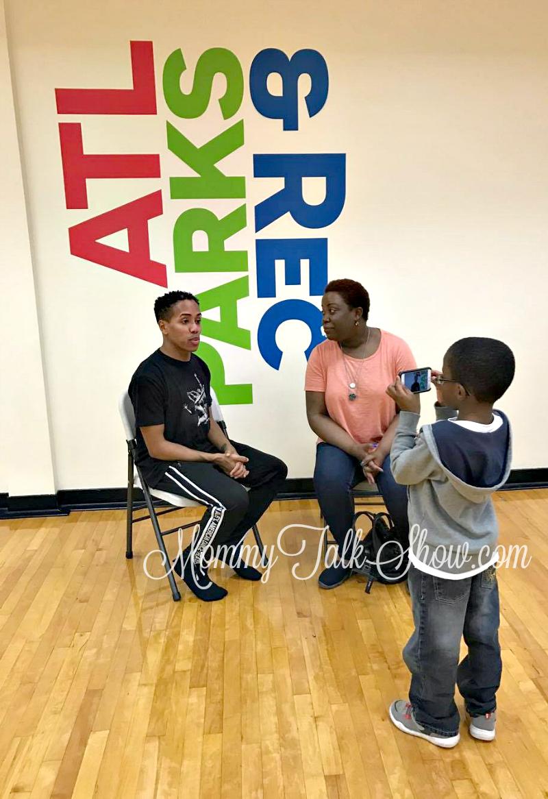 A.J. Interviewing Daniel