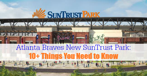 Featured Atlanta Braves New SunTrust Park
