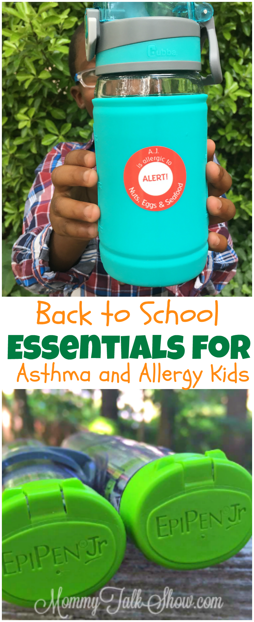 Back to School Essentials for Asthma and Allergy Kids