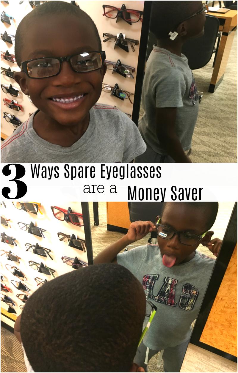 3 Ways Spare Eyeglasses are a Money Saver
