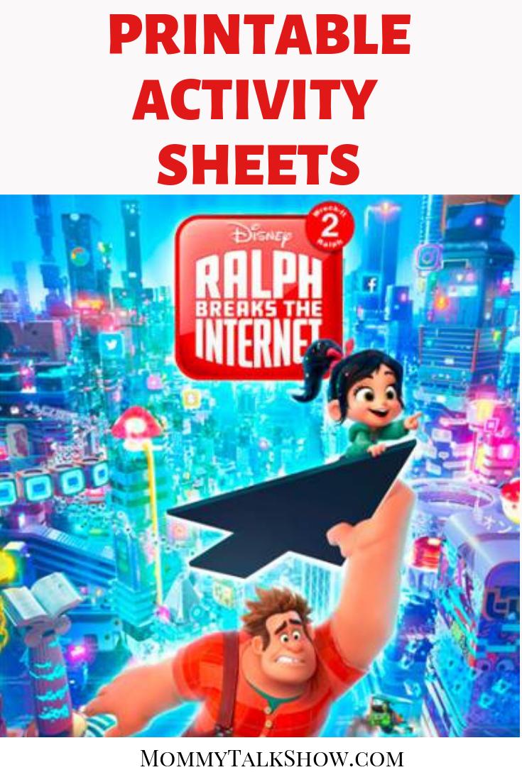 4 Useful Life Lessons from Wreck-It Ralph 2 #RalphBreaksTheInternet + Printable