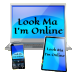 Look Ma Im Online logo