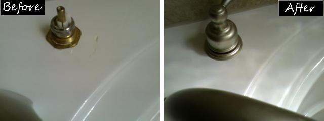 Countertop Repair Before & After