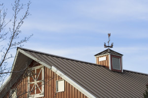 Barn With Metal Roof