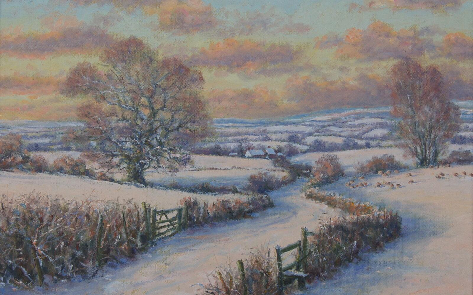 Mervyn Goode painting
