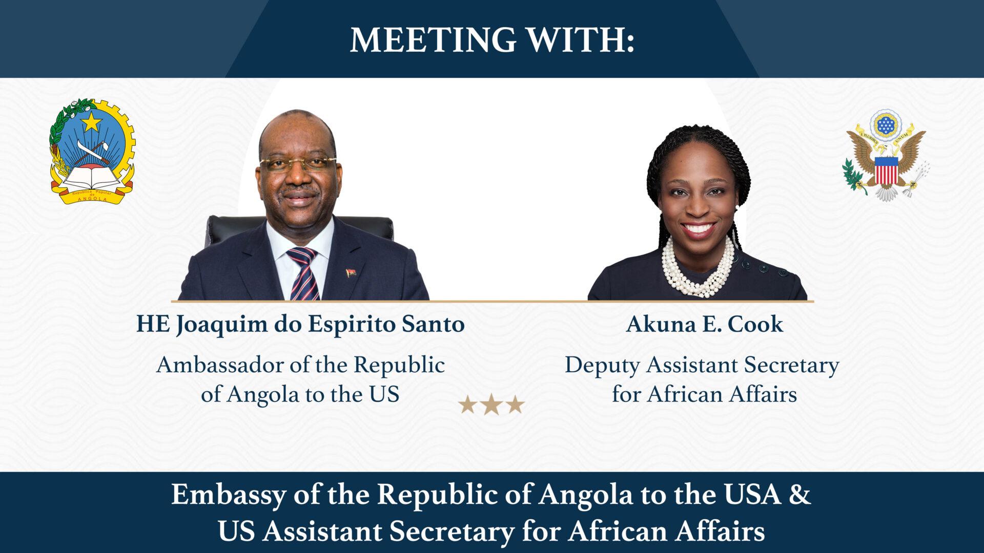 Akuna Cook and Angolan embassy Meeting