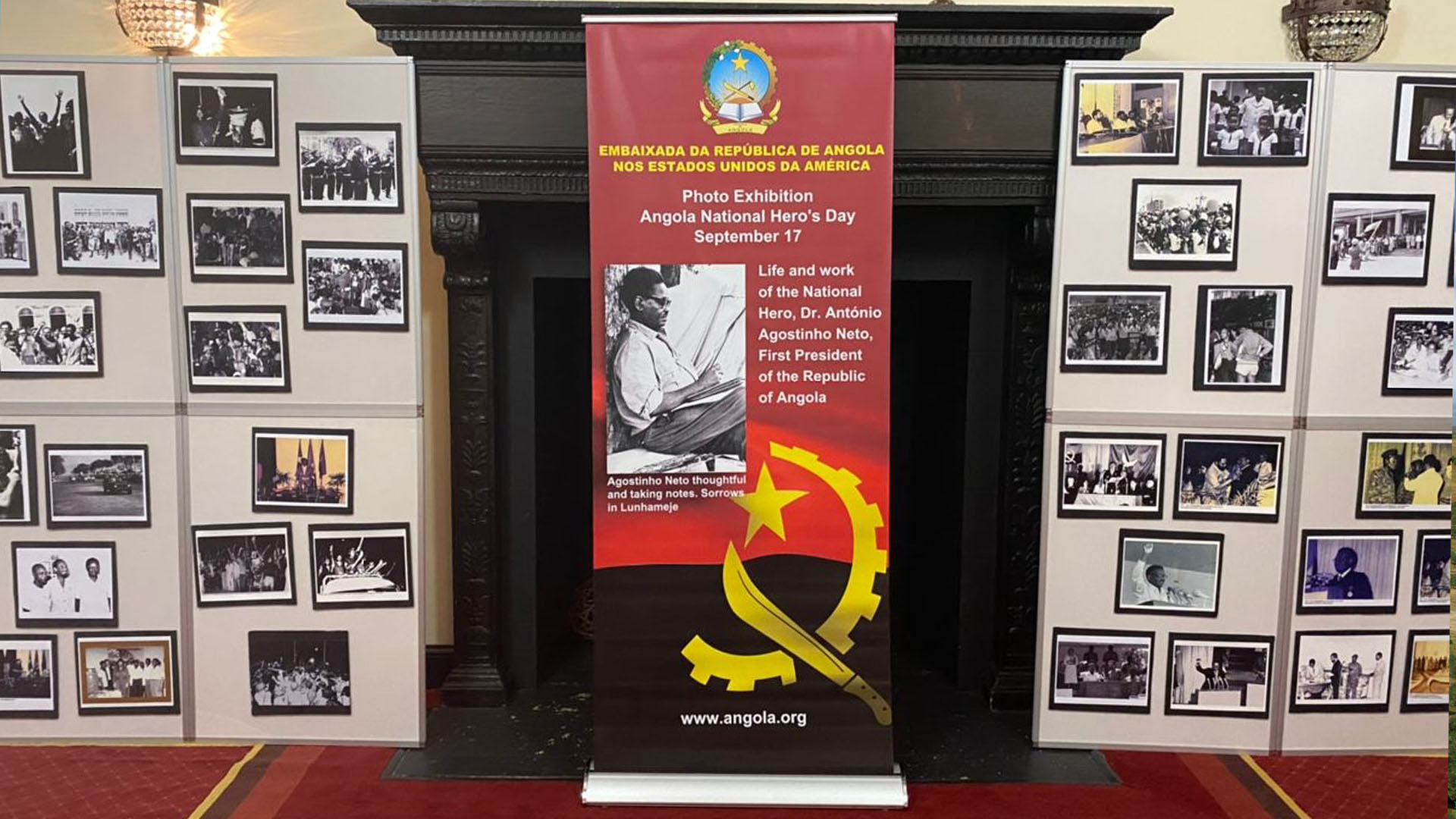 Honoring Angola National Hero and Founder's Day