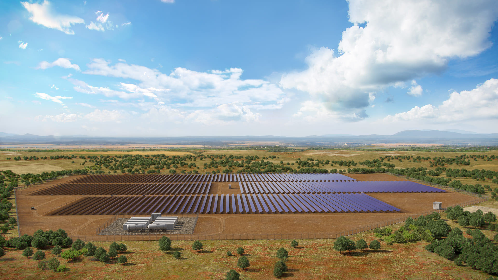 Largest Solar Energy Project in Sub-Saharan  Africa