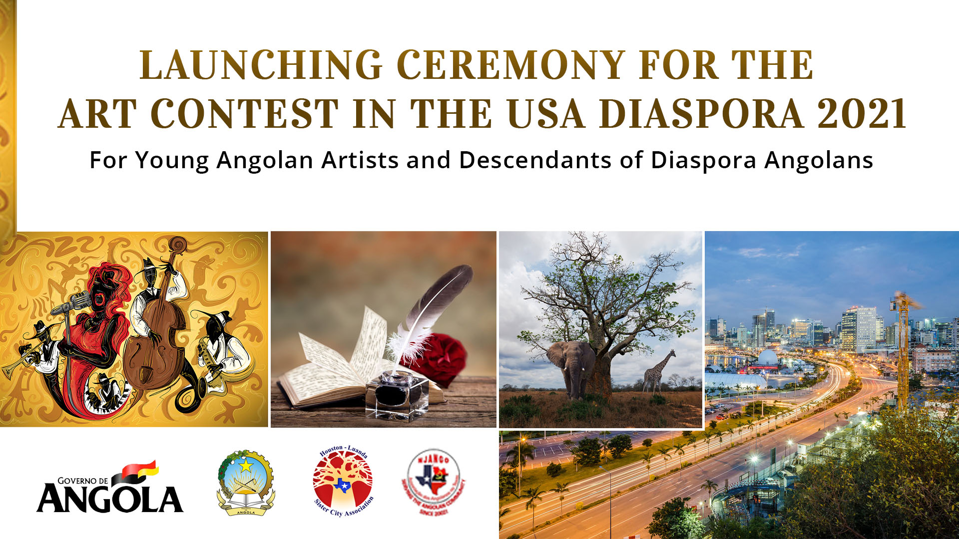 Art Contest for the Angolan Diaspora in the USA