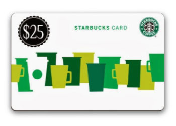 Getting your $25 Tango gift card is easy