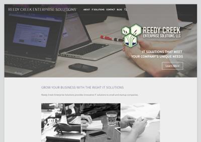 Website for Reedy Creek Enterprise Solutions