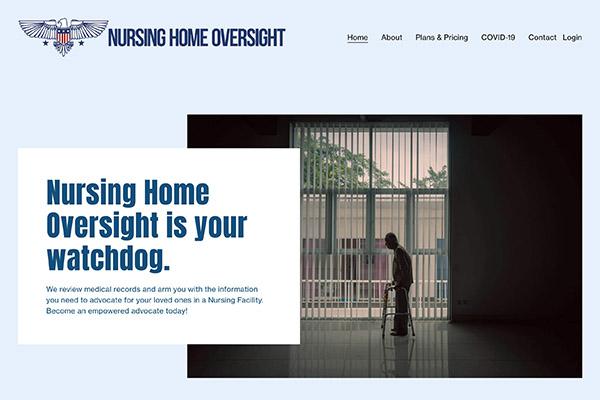 Website Redesign for Nursing Home Oversight