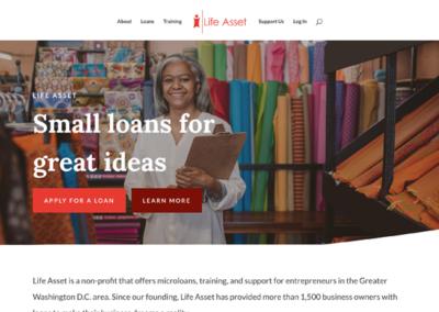 Website Redesign for Life Asset Inc.