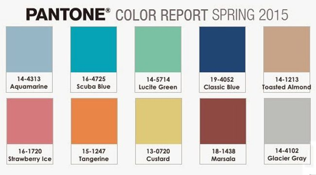 All About Color ~ Pantone Spring Color Report