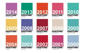 Pantone Color Trends - Color of the Year 2000 Through 2014