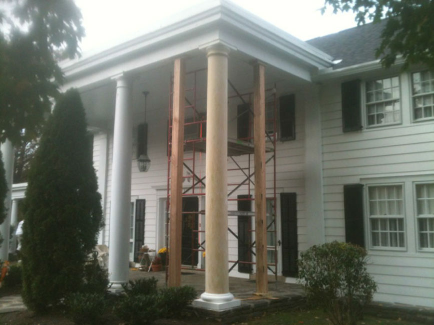 Replacing Exterior Columns in Merion PA