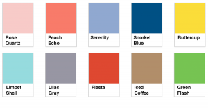 Pantone 2016 Spring Colors