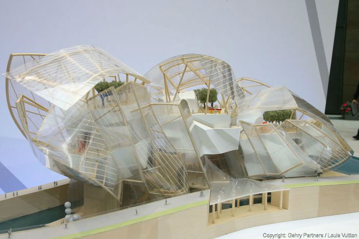 The New Louis Vuitton Foundation Building in Paris