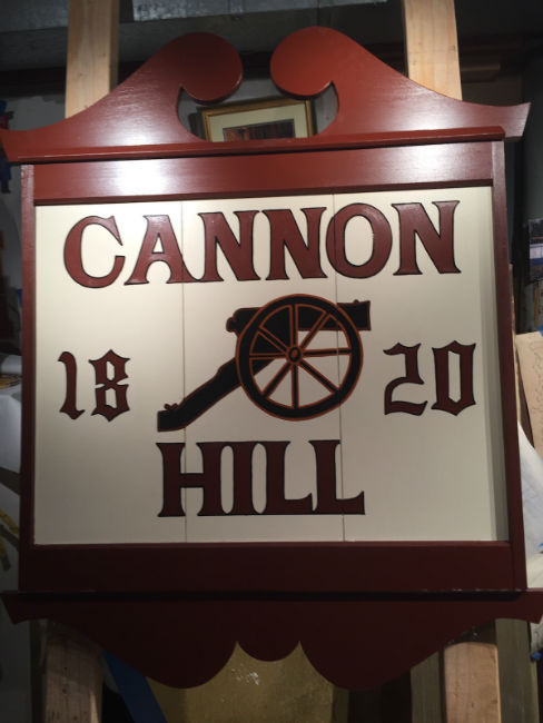 Sign Restoration and Painting Services by John Neill Painting serving the greater Philadelphia area and The Main Line