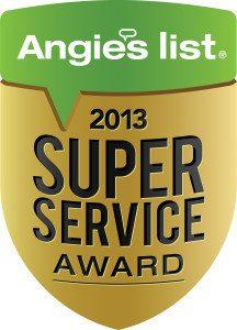 Angie's List 2013 Super Service Award ~ John Neill Painting