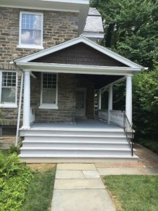 Completed Porch Remodel in Chestnut Hill, PA