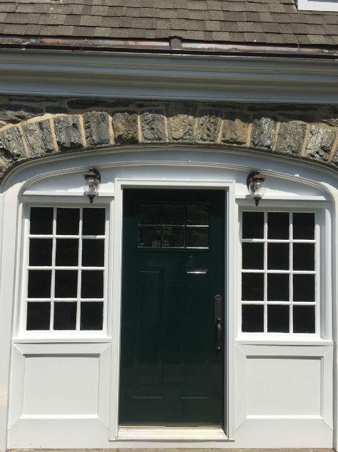 Carriage House Exterior Paint Job