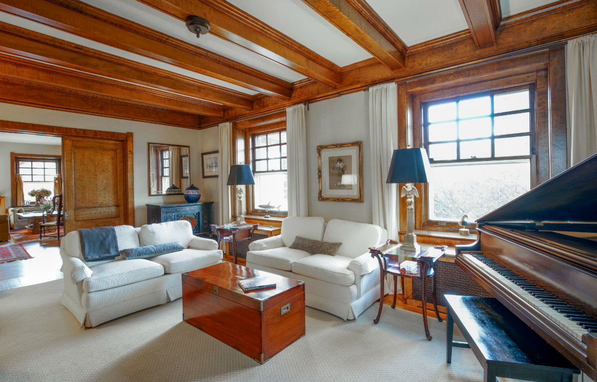 Stunning wood staining work by John Neill Painting and Decorating of Philadelphia