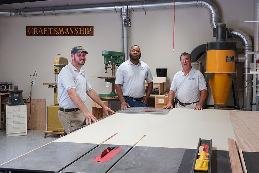 Expert Carpentry Team at John Neill Painting & Decorating