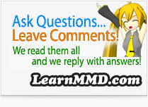 Ask questions... get answers!... email LearnMMD's Reggie D