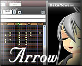 Download lip-sync and Mp3 soundtrack for Arrow, a nice litle love song.