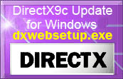 Click to get Microsoft page to download DirectX 9c