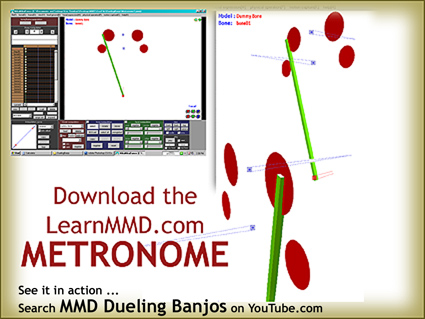 Download your free Metronome PMM dance file with accessories.