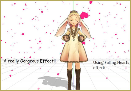 The Falling Heart Effect is just a wonderful effect ... gorgeous!