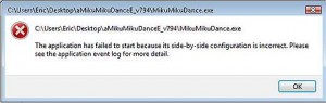 Take careful note of any error messages. They will help you to know what's wrong!