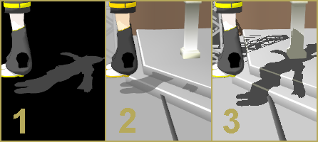 """Adjust the shadows in your MMD animation to get your desired """"look"""".  LearnMMD"""