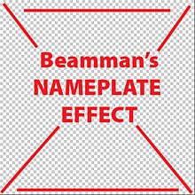 The Nameplate Effect requires a 512x512 pixel PNG file ... Transparency is OK.