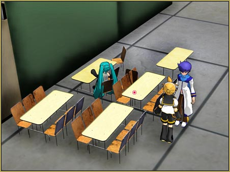 I set up a room full of furniture as I made my MMD video.