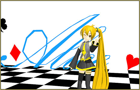 """I don't have an Alice model... but at least Neru seems to like it!"""""""
