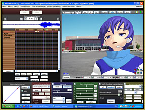 This Is Target meme on the MMD GUI.